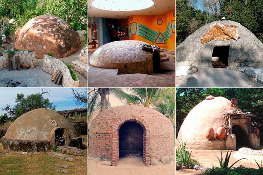 Старинная баня индейцев. Термискаль
