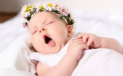 Сладкий сон ребенка.