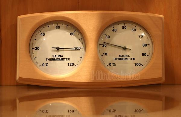 Обязательный аксессуар для сауны - Термомет.