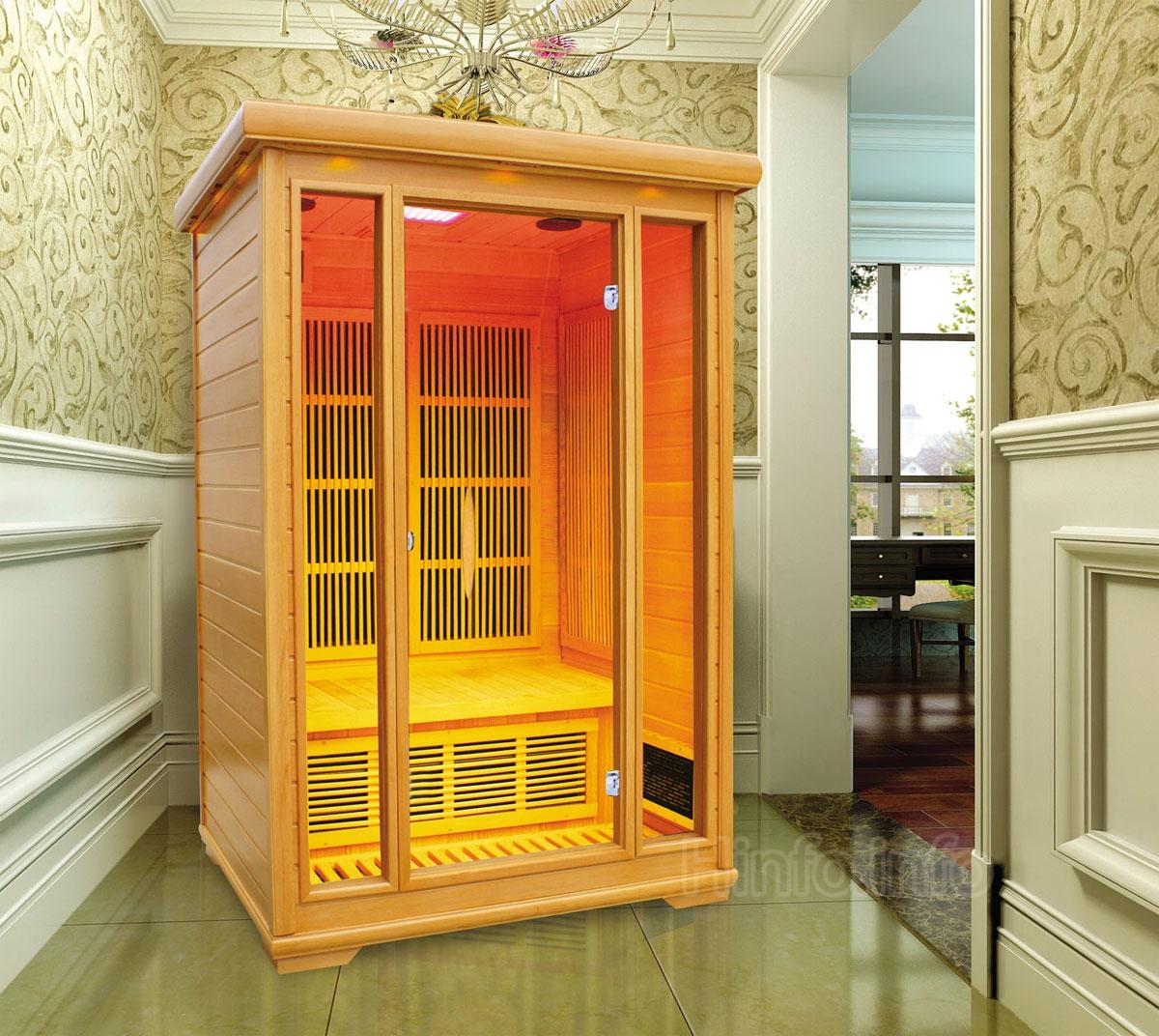 Домашняя стационарная инфракрасная сауна.